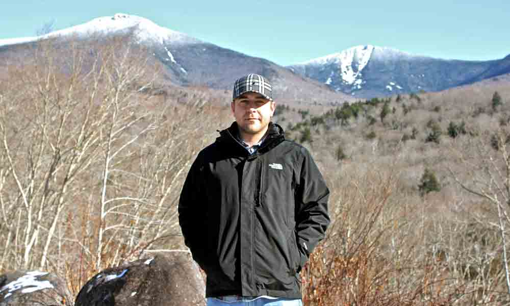 George Enos in the White Mountains