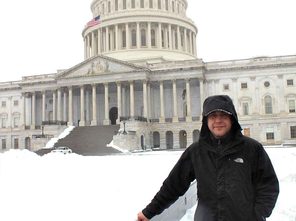 George Enos - DC Capitol Snow
