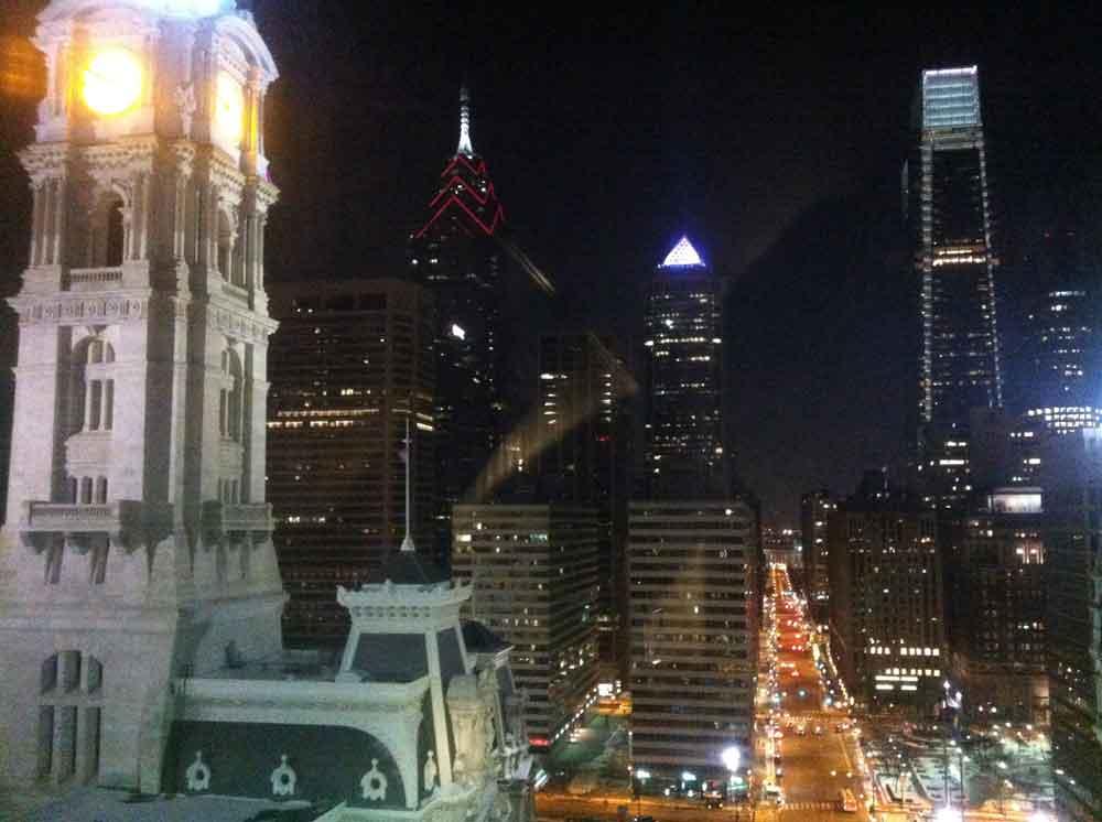 Philly Skyline - Courtyard Philadelphia Downtown